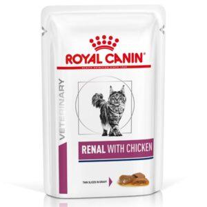 Cat Renal Poulet Emincé Sachet repas - 12 sachets de 85 g