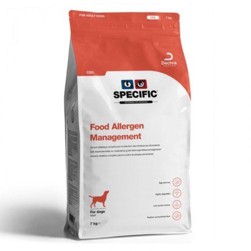 Specific Chien CDD Food allergy Management