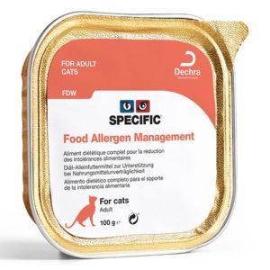 Pâtée FDW FOOD ALLERGEN MANAGEMENT Chat 7x100g - Specific