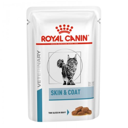 Pâtée SKIN & COAT Chat - Veterinary Health Nutrition