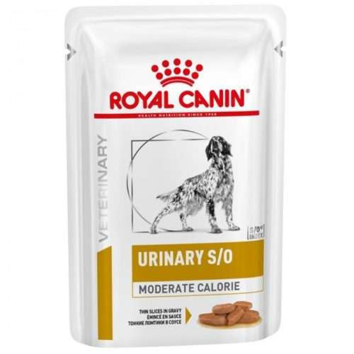 Vdiet Dog URINARY S/O MODERATE CALORIE Chien 12x100g - Veterinary Health Nutrition