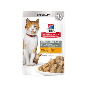 Feline Sterilised Cat Young Adult Poulet Sachet repas