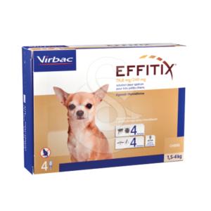 Effitix Spot On Très Petit Chien 1,5-4 kg