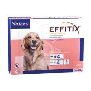 Effitix Spot On Grand Chien 20-40 kg