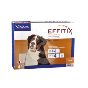 Effitix Spot On Très Grand Chien 40-60 kg